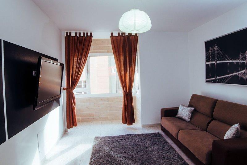 Apartamento entero,Playa de la Garita ,Coral Beach,La Garita,Telde Gran Canaria, aluguéis de temporada em Telde