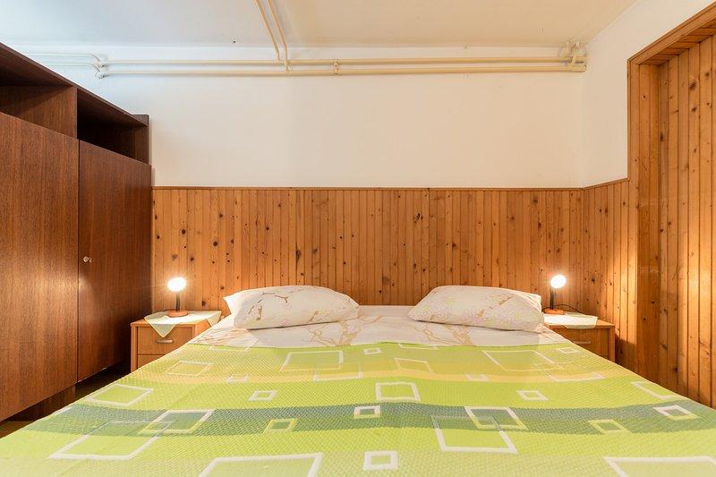 Slaapkamer, kamer, binnen, Meubels, Bed