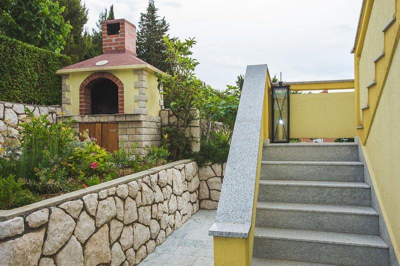 Passerella, Percorso, Flagstone, Ambientazione esterna, Giardino