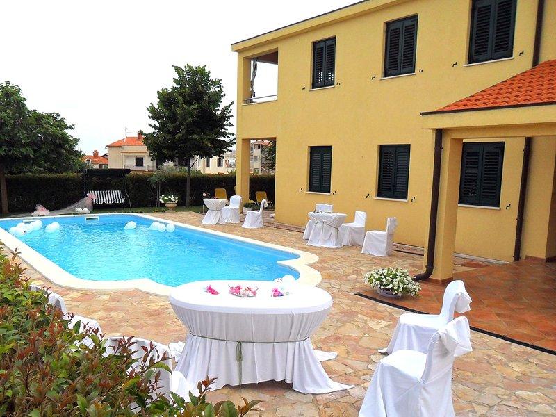 Resort, Edifício, Hotel, Banheira, Banheira de Hidromassagem