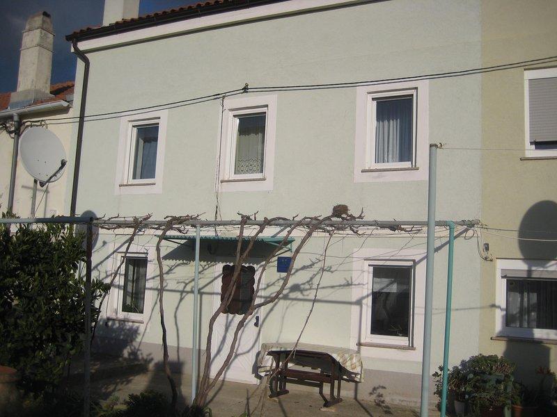 Decorazioni per la casa, parete, finestra, patio, corrimano