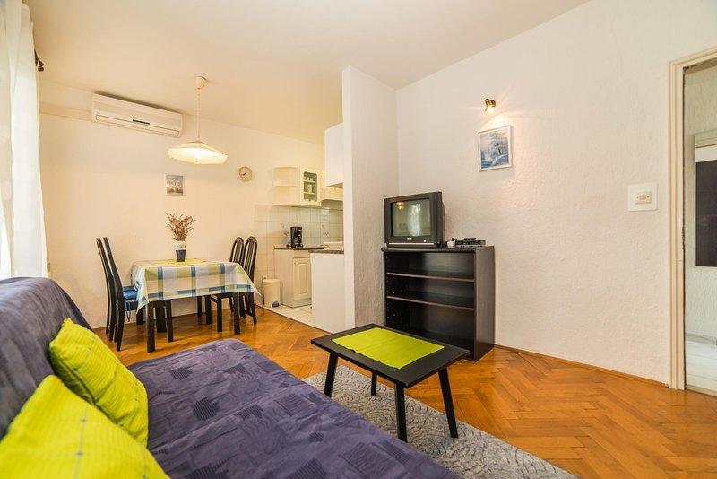 Silla, muebles, pisos, sala, en el interior