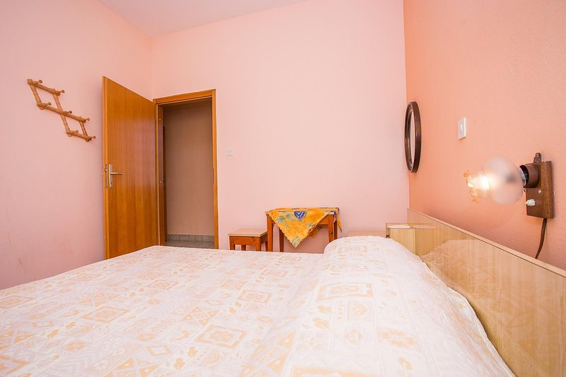 Bed, meubels, binnen, kamer, slaapkamer