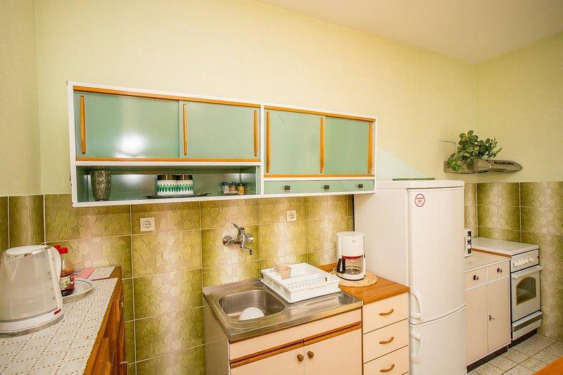 Meubels, binnen, kamer, kabinet, Keuken