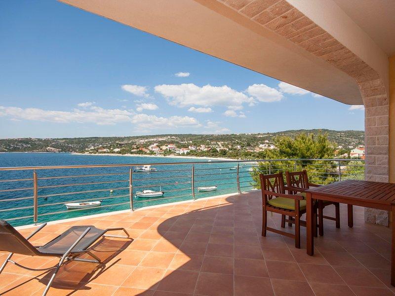 Balkon, stoel, meubels, Vervoer, Boat