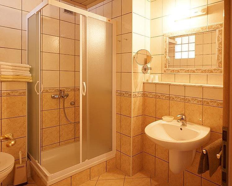 Wastafel, kamer, binnen, badkamer, WC