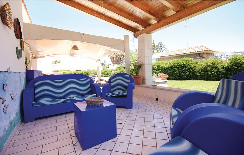 Nice house near the beach & garden, vacation rental in Santa Maria del Focallo