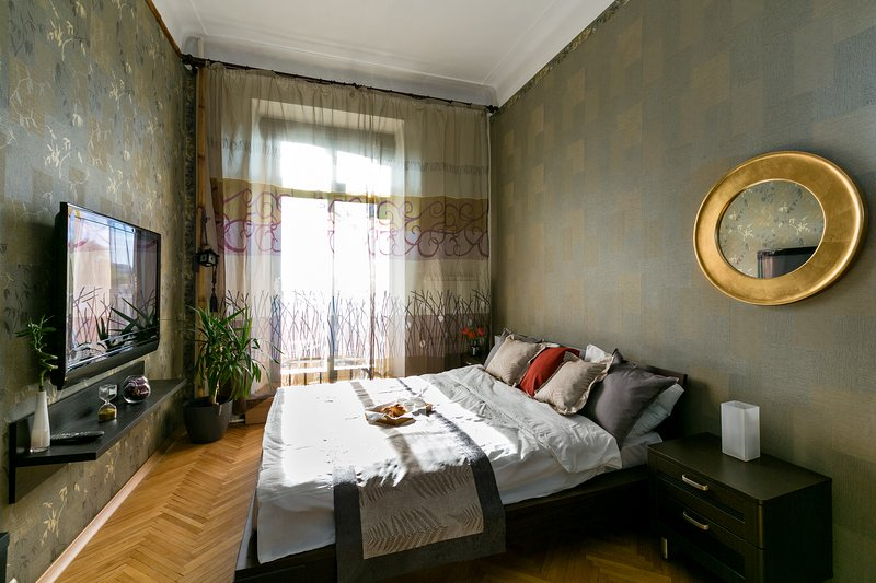 GorodM Designer 4-rooms flat near Kremlin, location de vacances à Balashikha Urban District