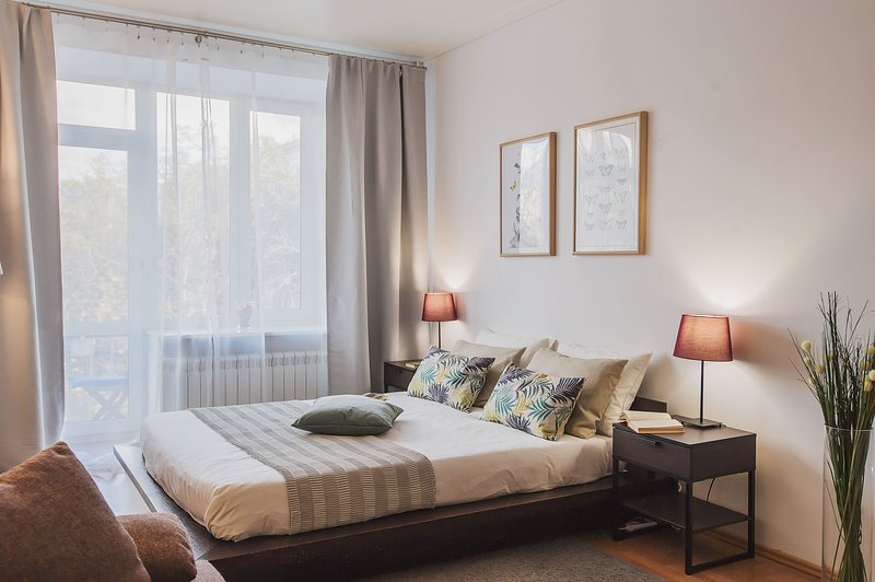 GorodM Apartment with the view of Patriarshie pond, holiday rental in Gorskoye