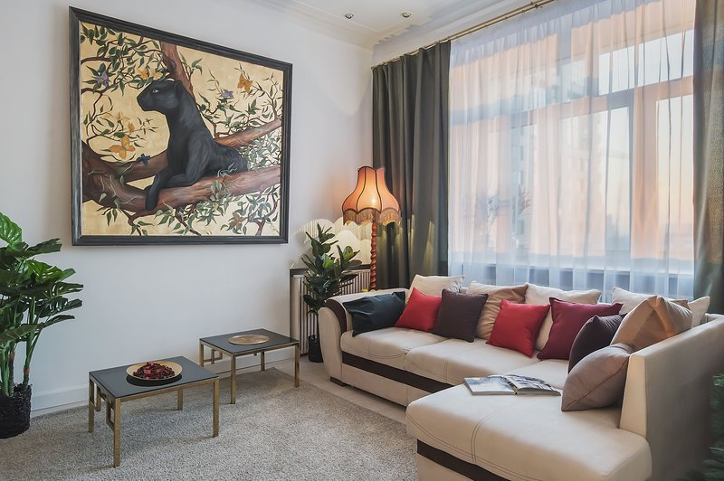 GorodM Apartment with mansard on Tverskaya, location de vacances à Domodedovo Urban Okrug