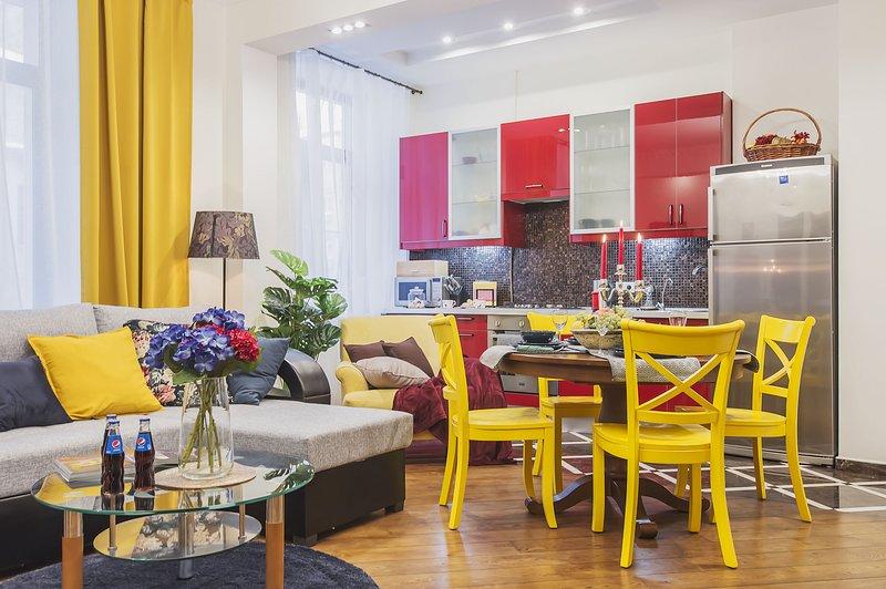 GorodM Apartment at Tverskaya, 13, holiday rental in Grigorchikovo
