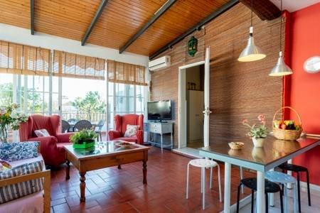 PENHOUSE TERRACED SOLARIUM WIFI BIKES FREE, holiday rental in Los Palacios y Villafranca