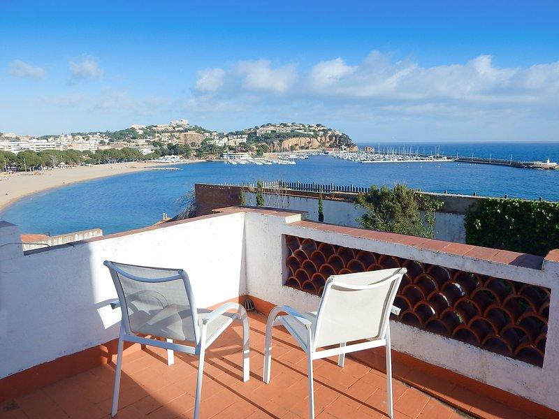 House in Sant Feliu de Guíxols in the center, terrace, barbecue & WiFi-BAHIA, casa vacanza a Sant Feliu de Boada