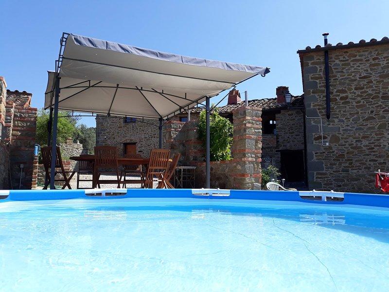 location maison typique toscane, aluguéis de temporada em Rapale