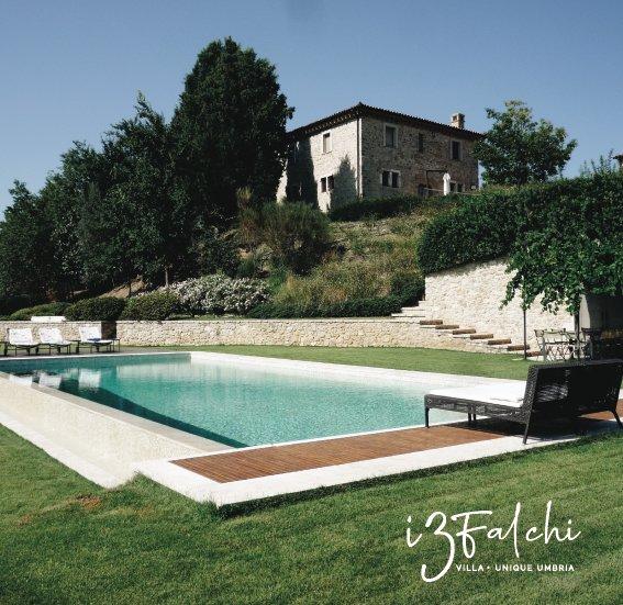 Villa I Tre Falchi Todi, location de vacances à Todi