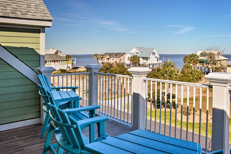 Enjoy stunning ocean views from this beautiful vacation rental house!