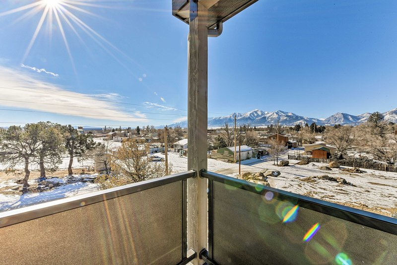 Your Rocky Mountain retreat awaits in Buena Vista at a stunning vacation rental!