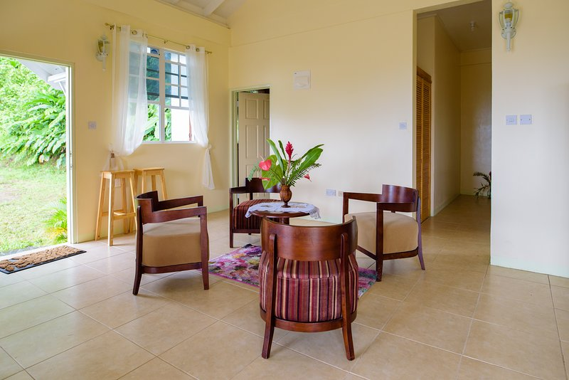 Beautiful house with sea view, holiday rental in Soufriere