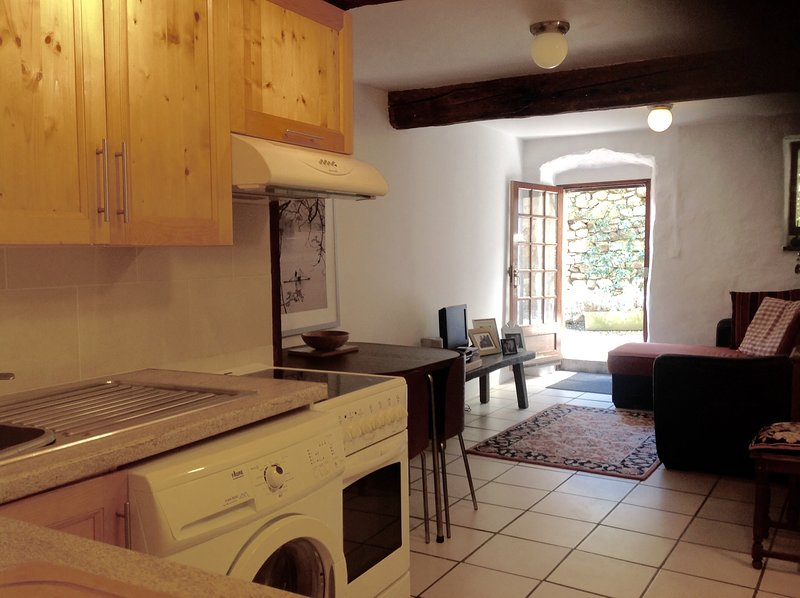 Nebias French Property - The Garden Apartment, holiday rental in Espezel
