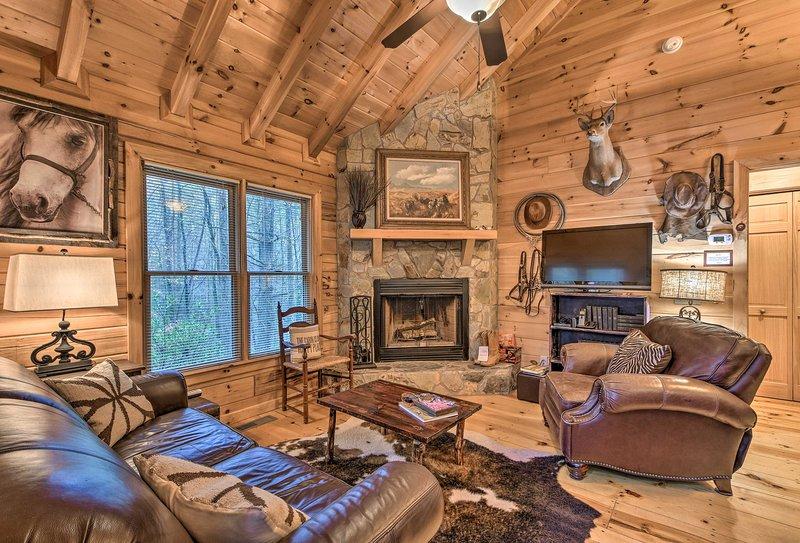 'Little Rock Creek Cabin' - 10 Mins to Blue Ridge!, location de vacances à Cherrylog