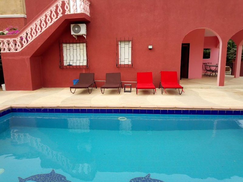 Loue belle villa avec piscine à La Somone ( à coté de  Saly ) - SENEGAL, holiday rental in Thies Region