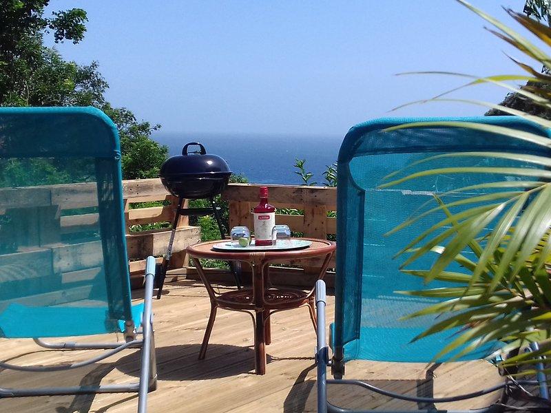 UN PETIT COIN DE PARADIS, aluguéis de temporada em Les Anses d'Arlet