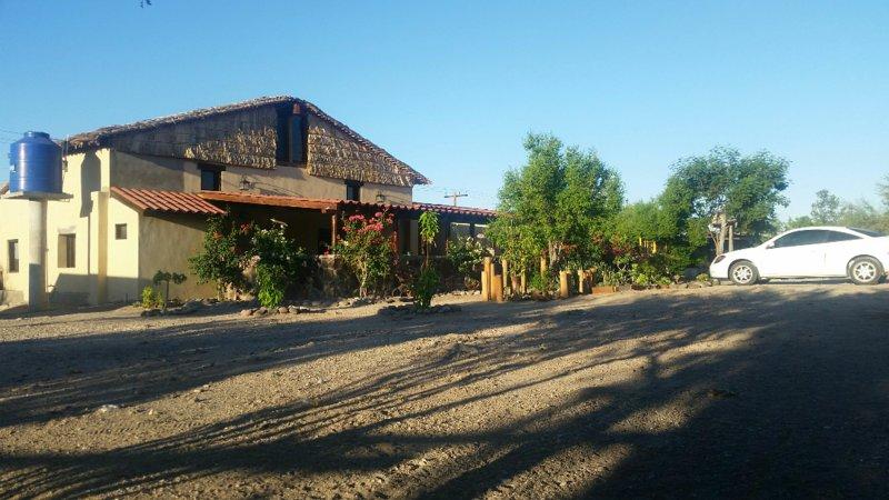 Rancho Espinoza San Ignacio, Baja Ca. Sur, mex, holiday rental in San Ignacio