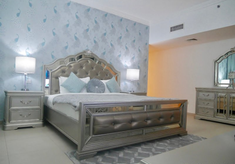 Huge beautiful Master Bedroom with full en-suite and furnished balcony with great views!