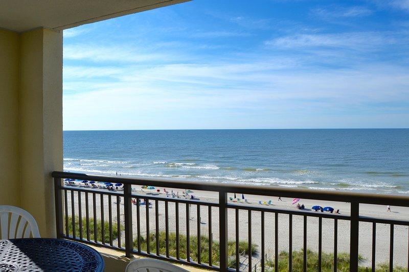 Rare Mar Vista Grande,3BR/3BA Oceanfront,Corner/end unit, N Myrtle Beach, holiday rental in Longs