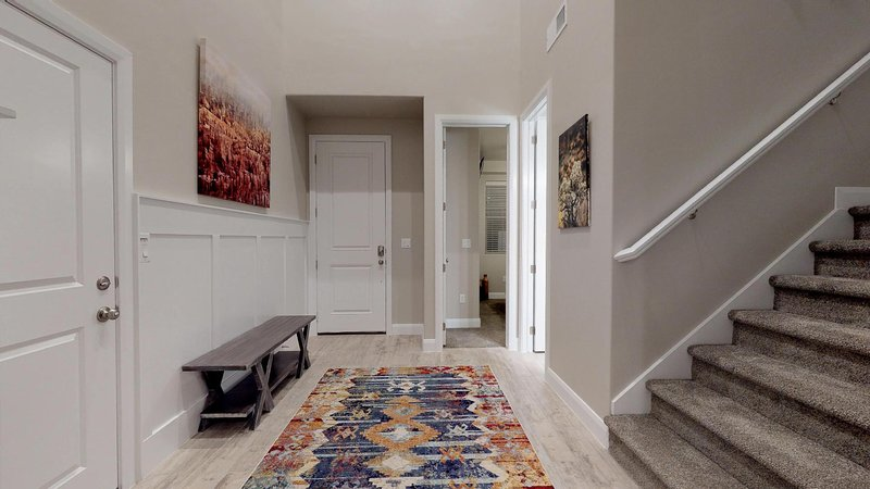 Entrance by second master suite