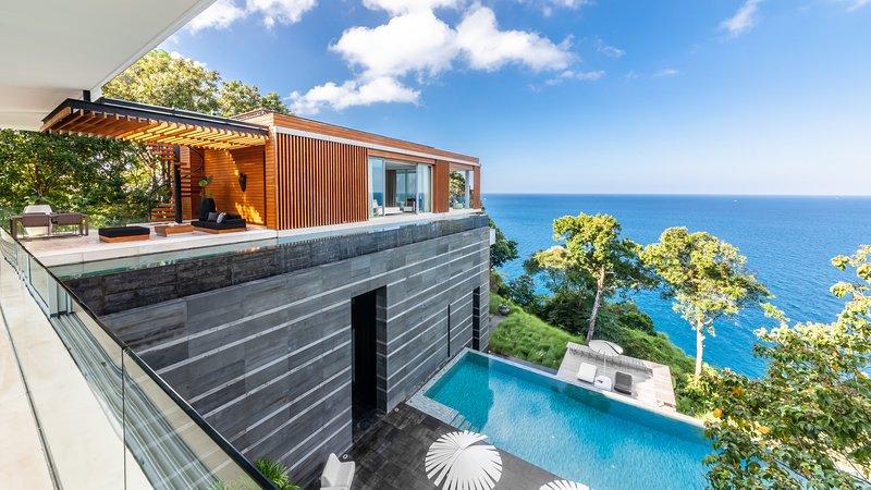 Villa Mayavee - Oceanfront Design Kamala Beach, alquiler de vacaciones en Kathu