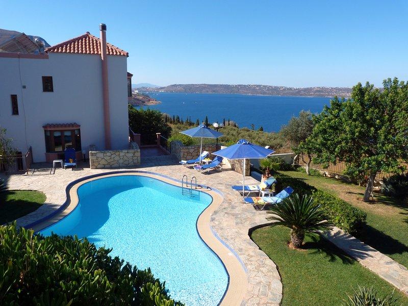 Sea View 3 Bedroom Villa, vacation rental in Kalami