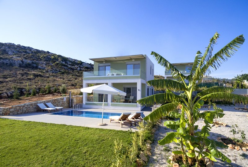 Family,private,relaxing,comfortable,view, vacation rental in Kounoupidiana