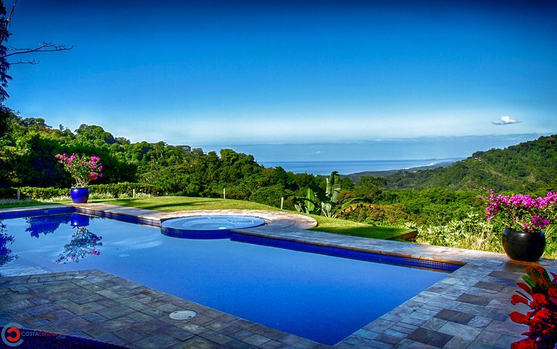 Stunning Pacific Ocean views from your own private 5 Acre Villa!