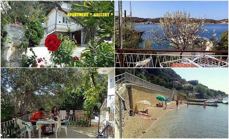 Apartment Kurelic no. 2 GALERY, casa vacanza a Rab Island