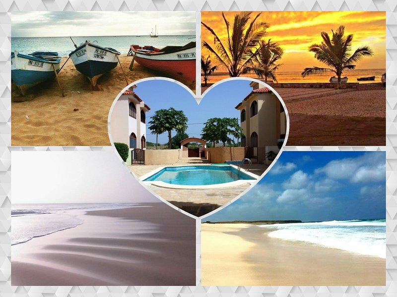 Maio-Cabo Verde-2 persons(+2) in residence with swimming pool, holiday rental in Vila do Maio