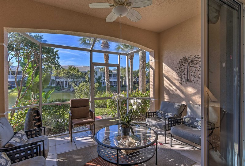 Up to 8 lucky guests will enjoy lounging on the porch or front covered patio.