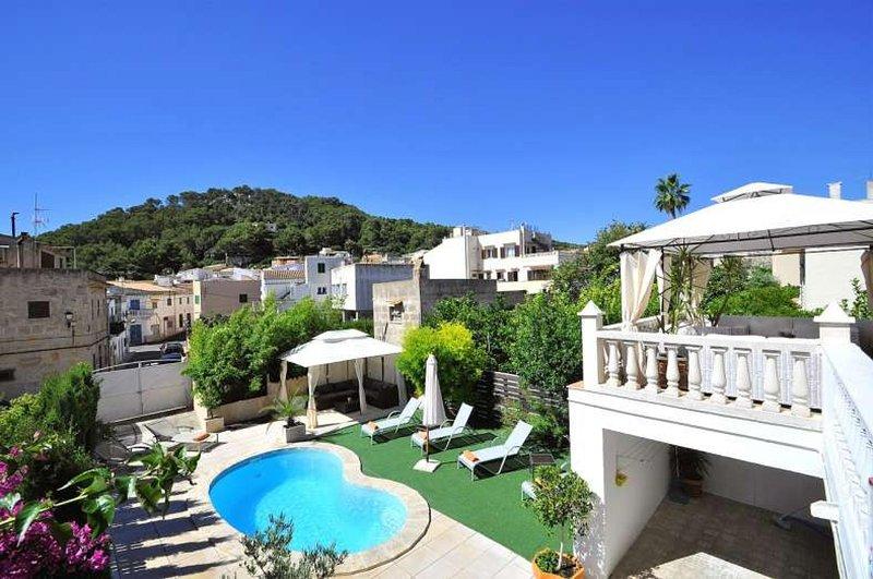 Villa VARNA -House 10 pax in Capdepera- Private Pool- Barbecue.. Children welcom, location de vacances à Font de Sa Cala