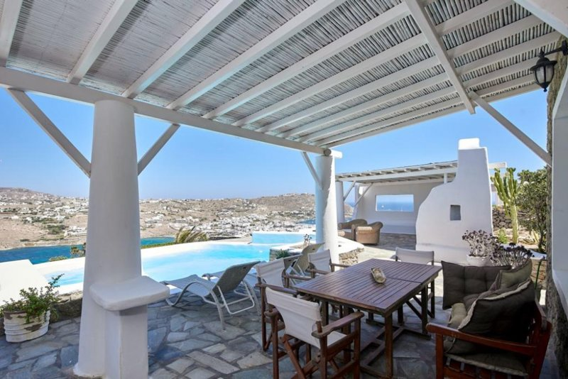 Villa Aella 5Bed Ornos Mykonos, holiday rental in Ornos