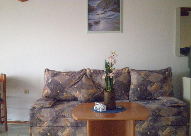 Studio flat Punat, Krk (AS-15451-a), holiday rental in Punat