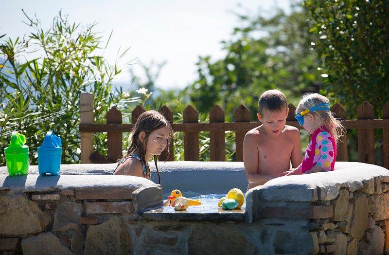 Geheizter Pool für Kinder
