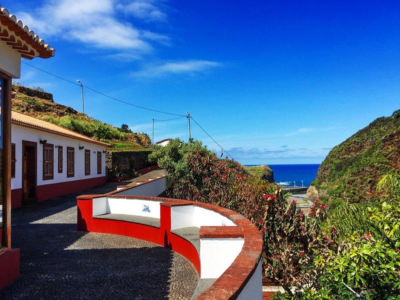 Casa e vista para o mar