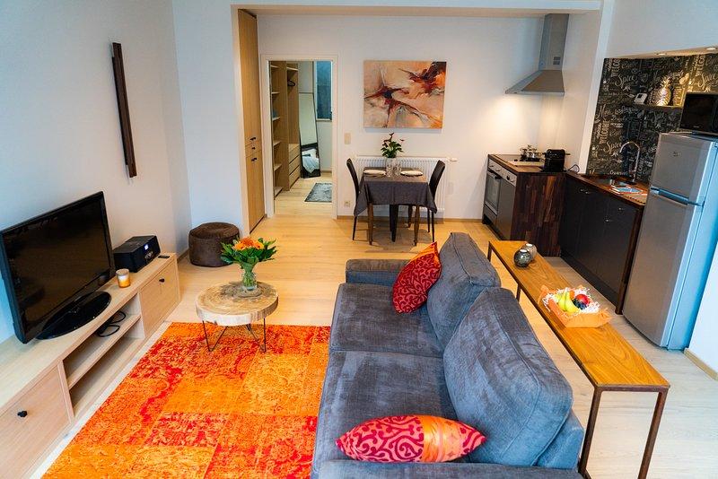 Appartement de vacances (3 clés) centre d'Aubel 'Le Cheval Blanc', vacation rental in Henri-Chapelle