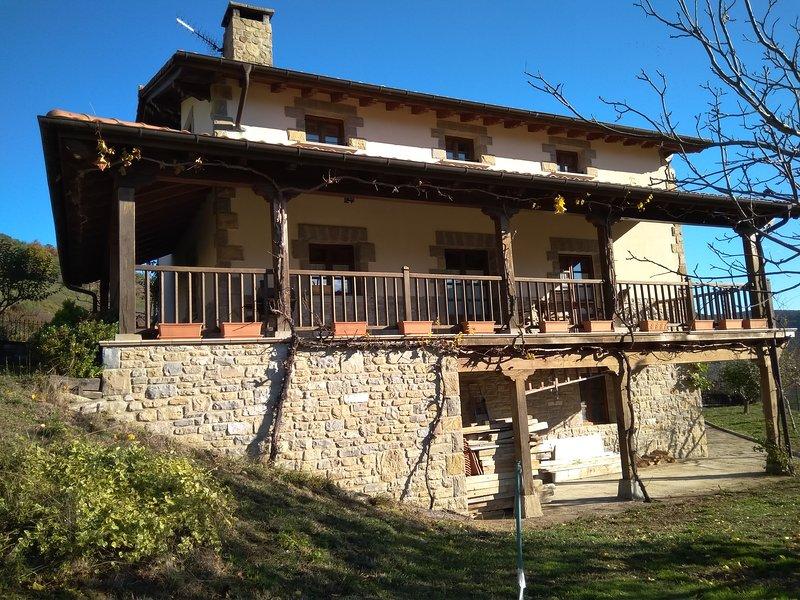 Elbegi, holiday rental in Lizaso