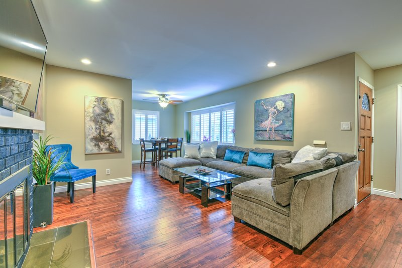 Modern 3BR/2BA by Disneyland+Convention Center, vacation rental in Chino Hills