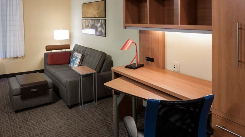 Studio Suite comes with a flat screen TV, wi-fi, fridge and a microwave!