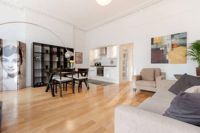 CVR NEW FABULOUS 1 Bed Flat WEST KENSINGTON, alquiler de vacaciones en Chiswick