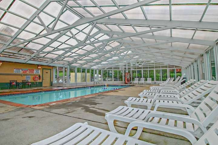 New Indoor Heated Pool at Mountain View Condominiums!