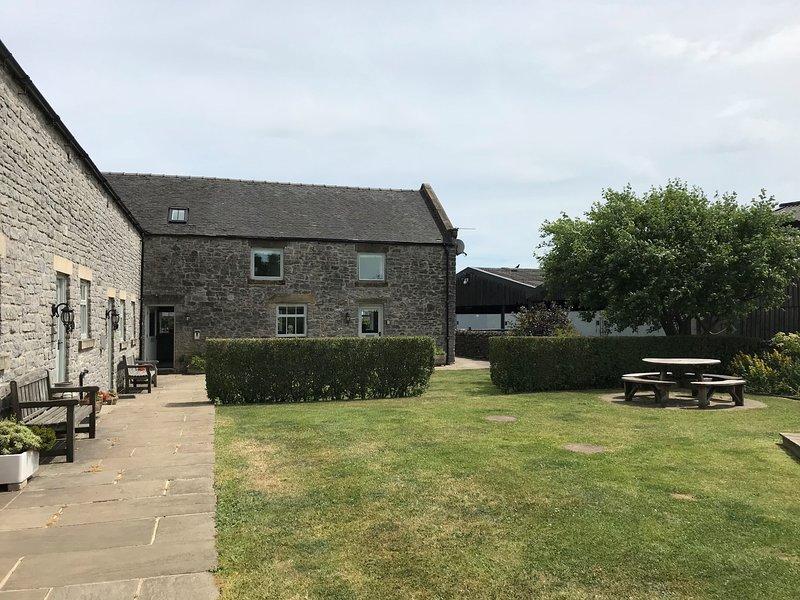 Rural stone barns