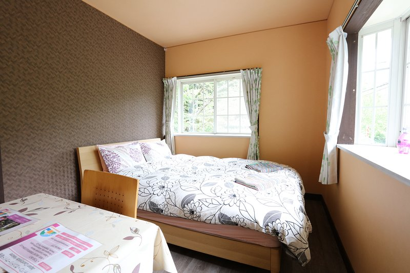 Double bed room with private bathroom